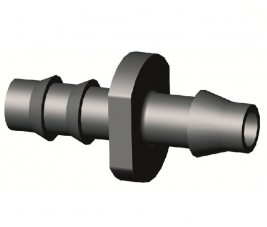 Verbindingstuitje 4-6 mm tbv CNL slang, zak a 500 stuks (PE D 5.25)