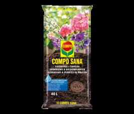 Compo Sana |Potgrond | Geraniums & Balkonplanten | 40L