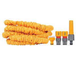 Hozelock SuperHoze 7.5mtr uitrekbare slang, incl. koppelstukken
