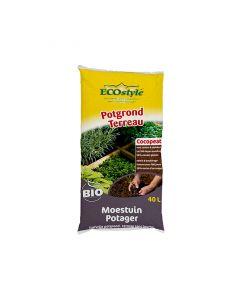 Eco-Style | Potgrond Moestuin | 40 Ltr